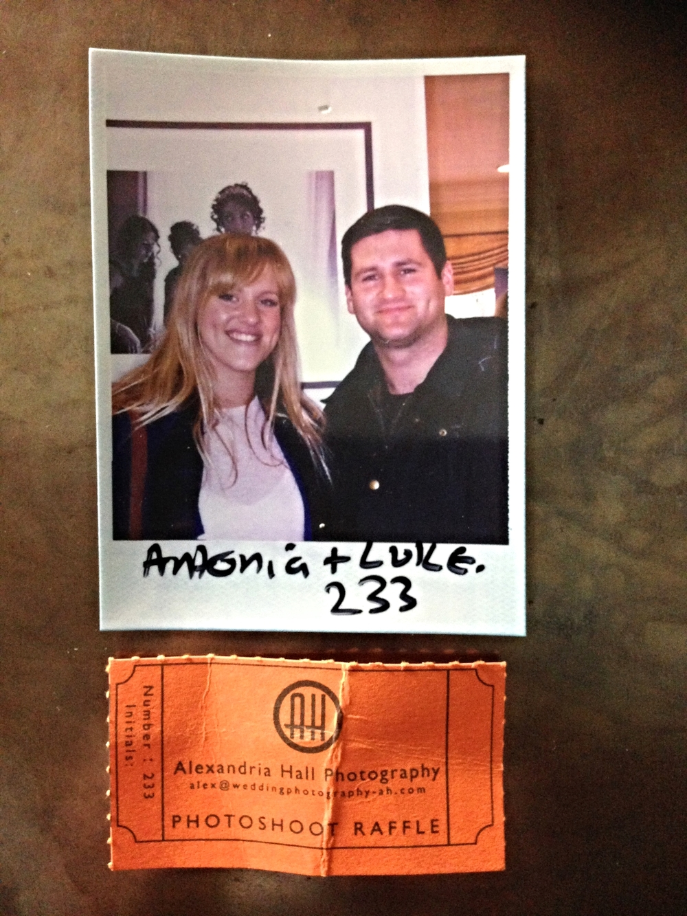 Congratulations Antonia & Luke xx