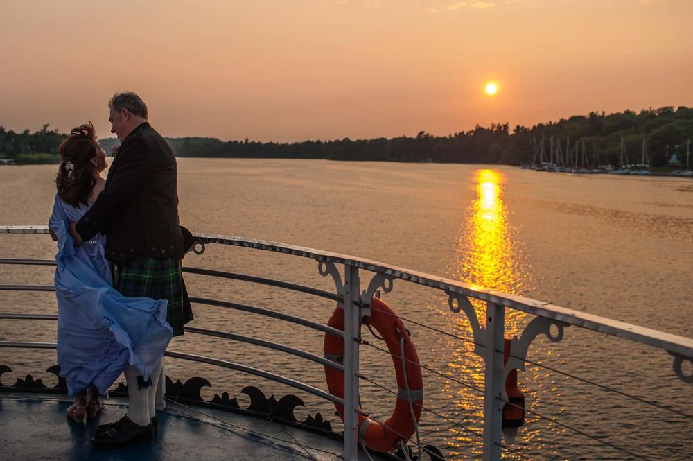 Ruth &Graeme   Canadian Destination wedding