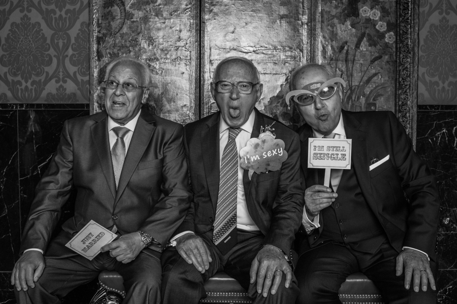 The Three Gentlemen , taken from the Pop up Studio in the evening of    R  eema & Nouri's Wedding .