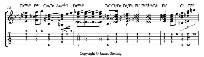 Three Chord Melody Jazz Standards Jamesstelling