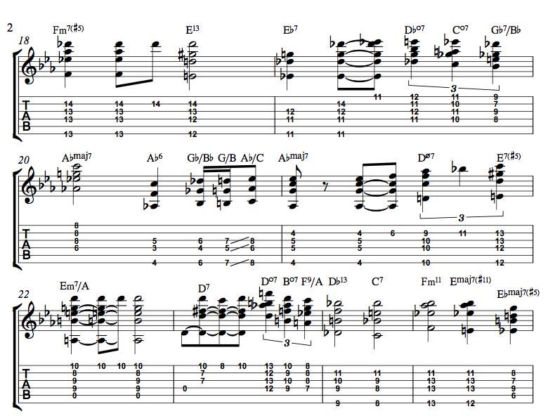 Three \'Chord Melody\' Jazz Standards — JamesStelling.com