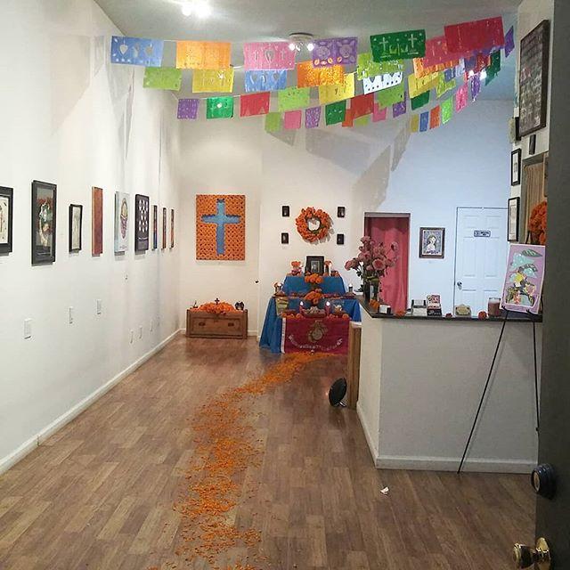 #artwalk @trojanmonkartgallery #artist #artistsoninstagram #art #gallery #illustration #trojanmonkart #inktober #artwork #medium #bayarea #drawing #eastbay #westcoast #halloween #instagood #October #vallejo #sf #artcollective #love #socialmedia #insta #instagram #instalike #instago #dulce #papel #dibujo
