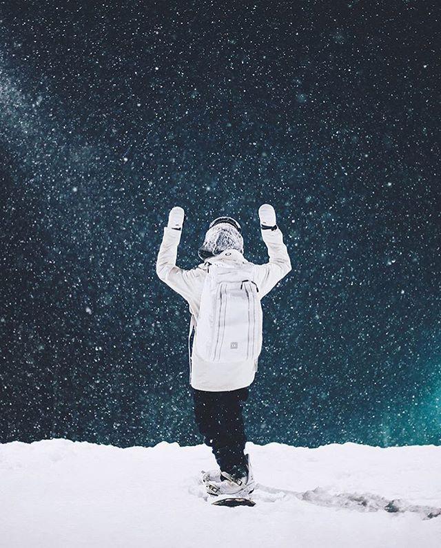 Riding into the night with @dashanosova ✨ 📸 @vladkhadarin • • • • • #dbtravel #journey #adventure #snowboarding #travel