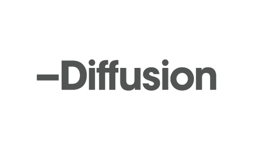 Diffusion logo design
