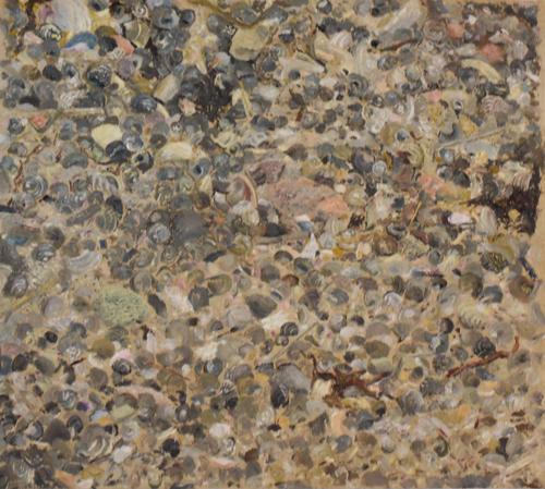 Jackson Pollock at the Beach oil 10 x 10.jpg