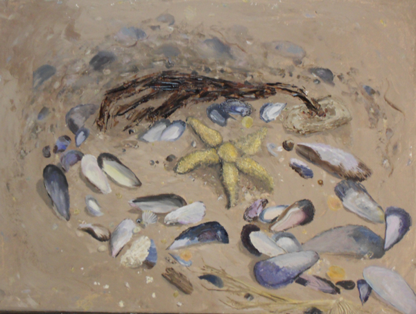 Mussels and Starfish oil  11 x 14.jpg