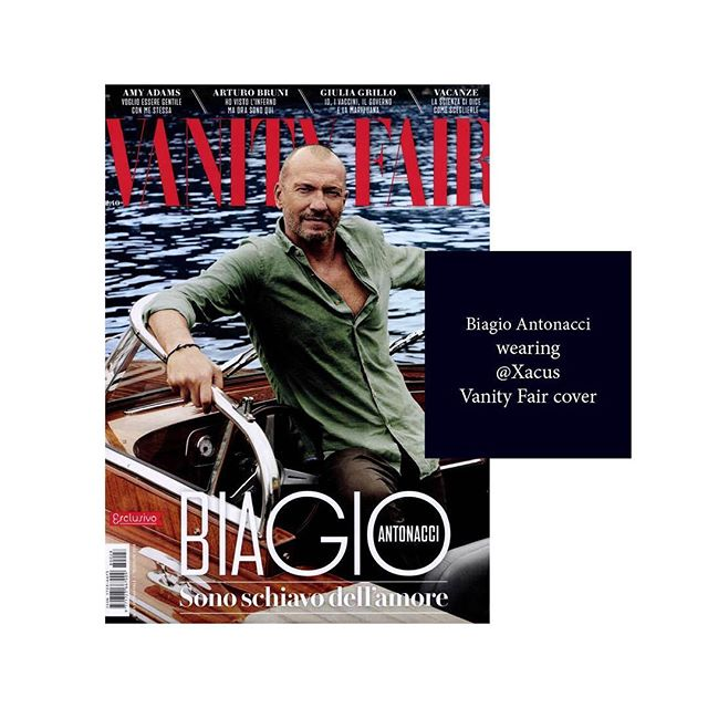 Amazing Biagio Antonacci on Vanity Fair SUPER COVER wearing Xacus!  @xacus @vanityfairitalia @biagioantonacci photographer: @mariogomezphotography THANKS!!! @crilucchini // #xacus #shirt #cover #fashion #biagioantonacci #fashionmagazine #fashionphotography #vanityfair #pressoffice #sosweetpr #pragency #milan #fashioneditorial #photography
