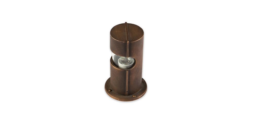 Jules Wabbes garden lamp raw bronze