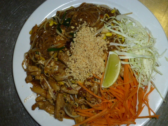 Here is a photo of Thailand's national noodle dish called Pad Thai