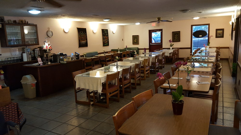 Enjoy your authentic Thai food in our comfortable dinning area.