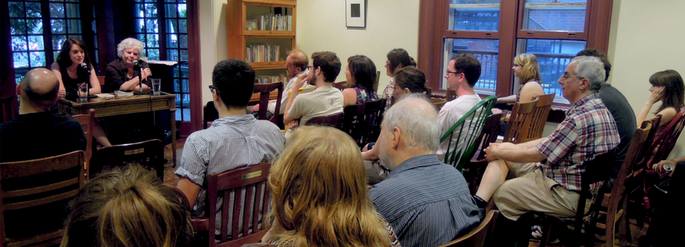Edith Grossman speaks abouttranslating seventeenth-century Spanish poet Luis de Góngora at Penn's Kelly Writers House , April 2012.