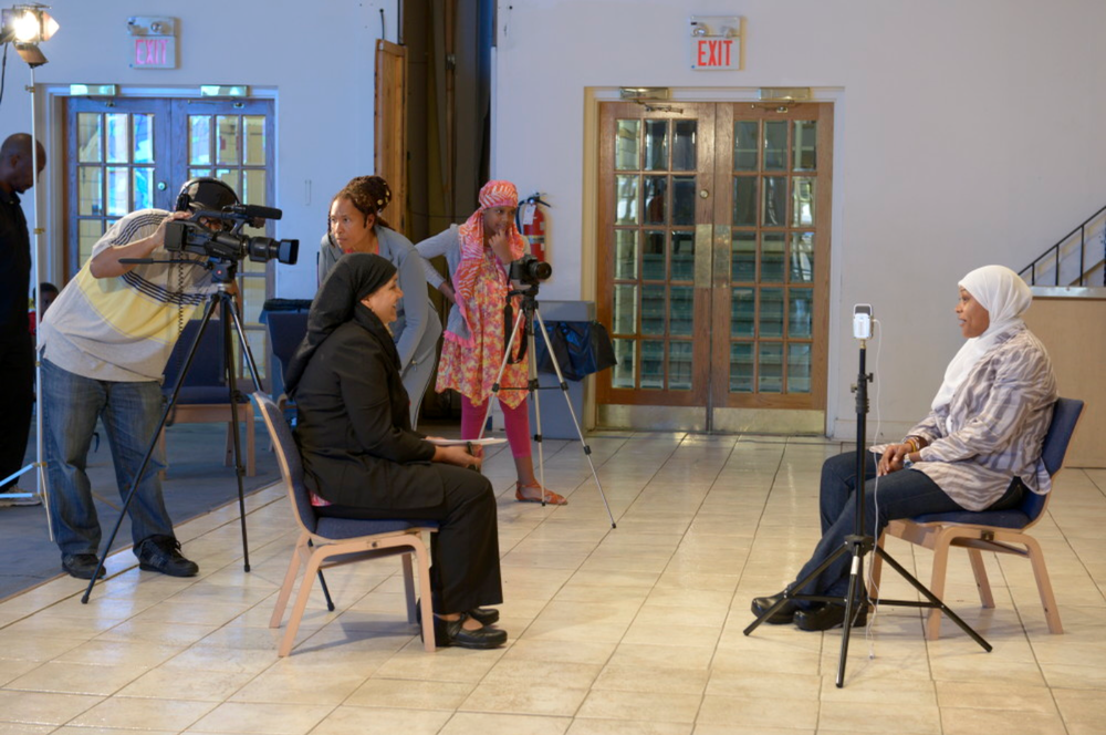Muslim Voices of Philadelphia,  directed by Louis Massiah, is a project of Scribe Video Center.