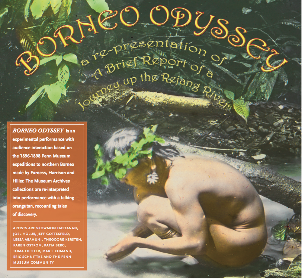 Flyer for  Borneo Odyssey  (detail).