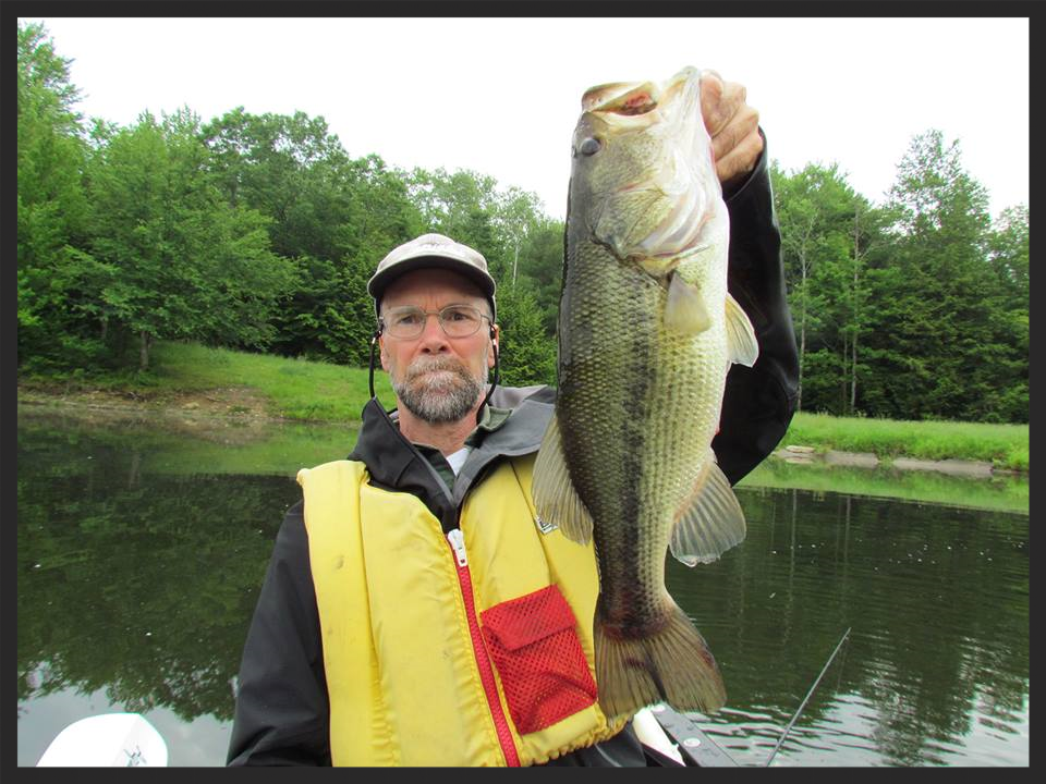 Nice large-mouth bass caught by one of our customers.