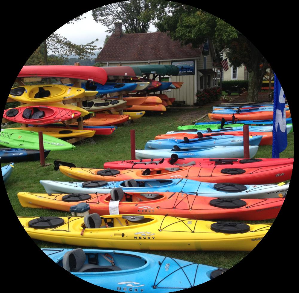 Kayaks -