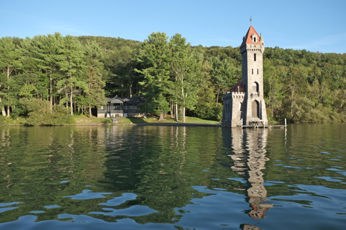 Kingfisher Tower on Otsego Lake