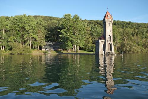 Kingfisher Tower on Otsego Lake