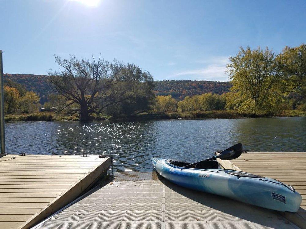 new dock with boat portlandville.jpg