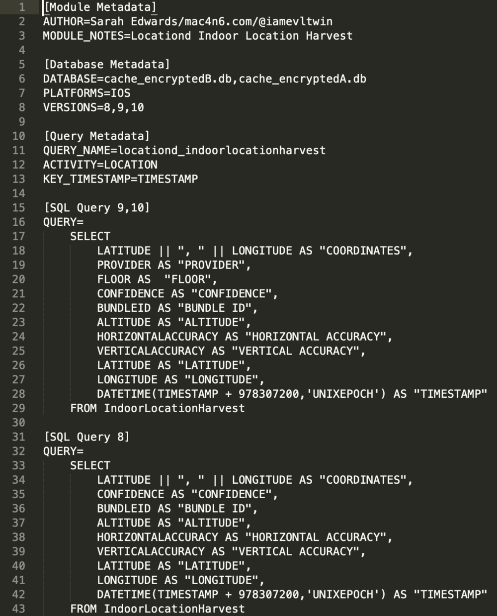 Manual Analysis of 'NSKeyedArchiver' Formatted Plist Files - A