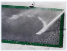 Spray Pressure Sensing System
