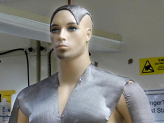 sensors on a body