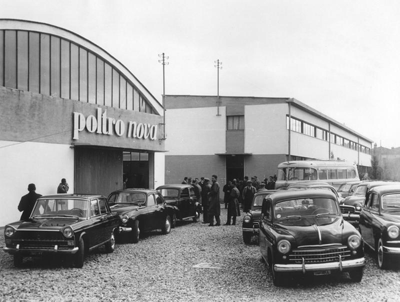 Poltronova opening 1957