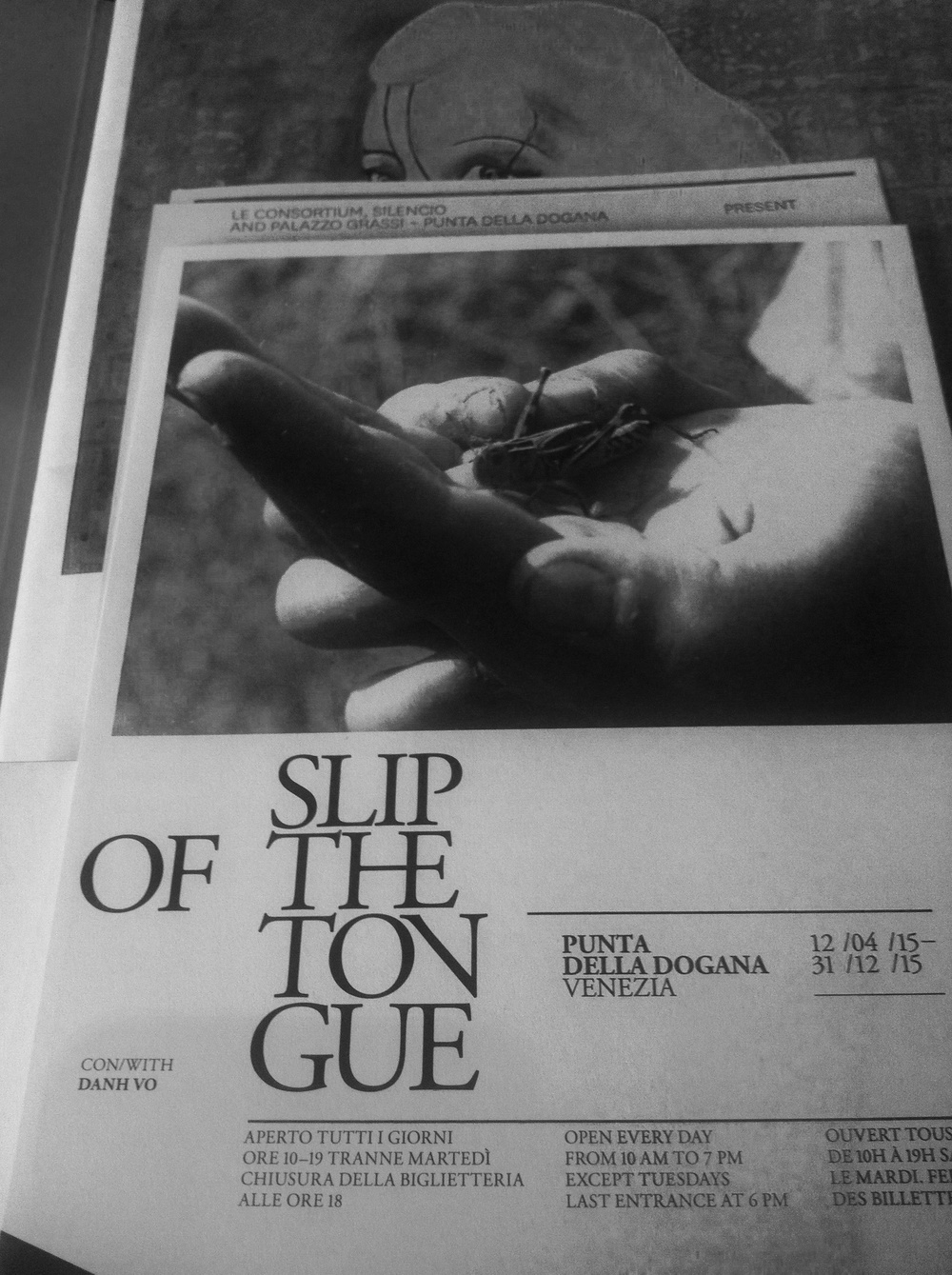 Slip of the Tongue (from the press kit)