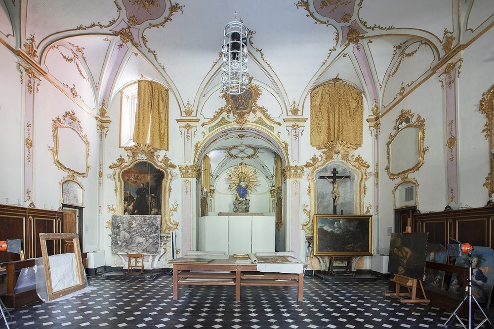 "Chiesa di San Francesco, image by Giovanna Silva (from ""Follow me. Susan Philipsz a Genova, Humboldtbooks, 2015)"