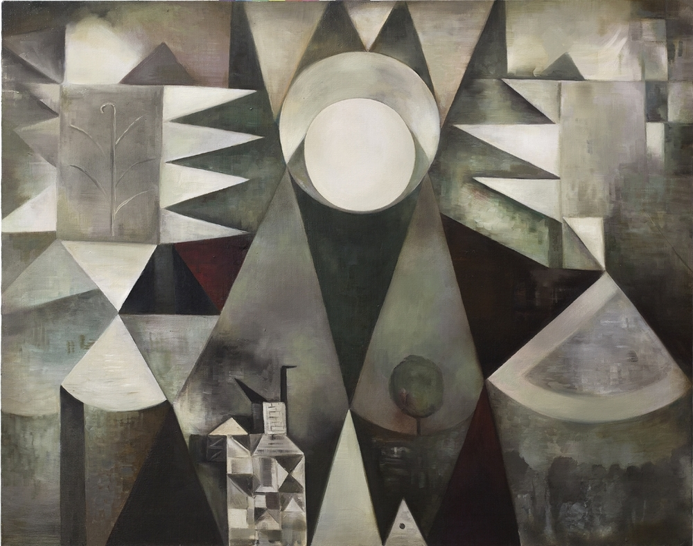 Ewa Juszkiewicz, Untitled (after Paul Klee), 2015, oil on canvas, 73в92 cm