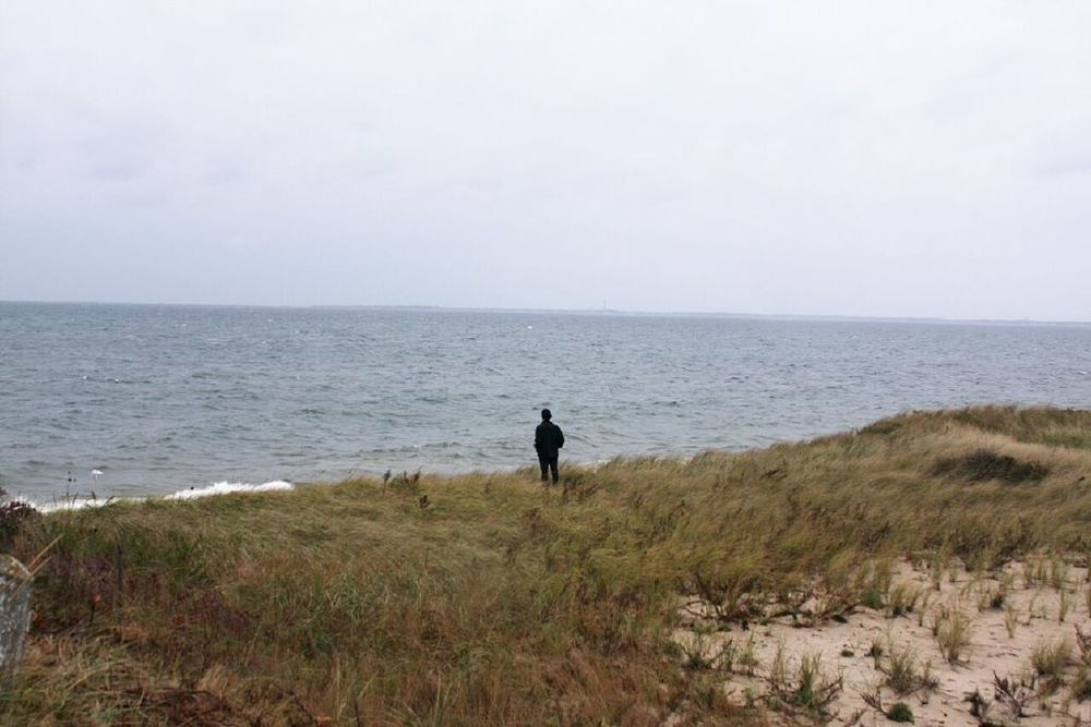 "David Horvitz, ""Pirivate Access"", A view of Cape Cod bay from Great Hollow beach, courtesy the artist and Chert, Berlin"