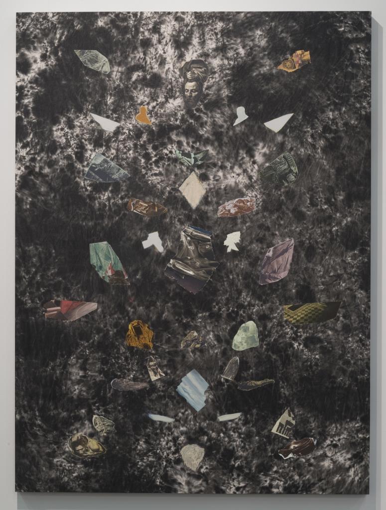 Fragment Study IV, 2015, oil on canvas, 165 x 122 cm
