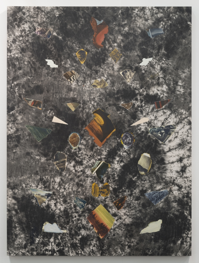 Fragment Study V, 2015, oil on canvas, 165 x 122 cm