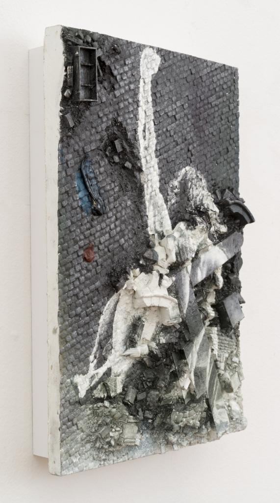 Figure in a Landscape II (detail)