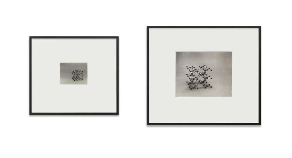 Simon Starling, Silver Salts, Platinum Salts, 2008. Stampa ai sali d'argento, 20,32 x 25,40 cm; stampa ai sali di platino-palladio, 40,64 x 50,80 cm (Collezione Nunzia e Vittorio Gaddi, Lucca)