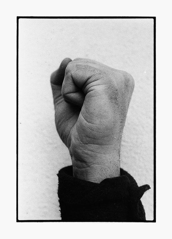 Paolo Gioli, fotografia di documentazione  (Courtesy dell'artista)