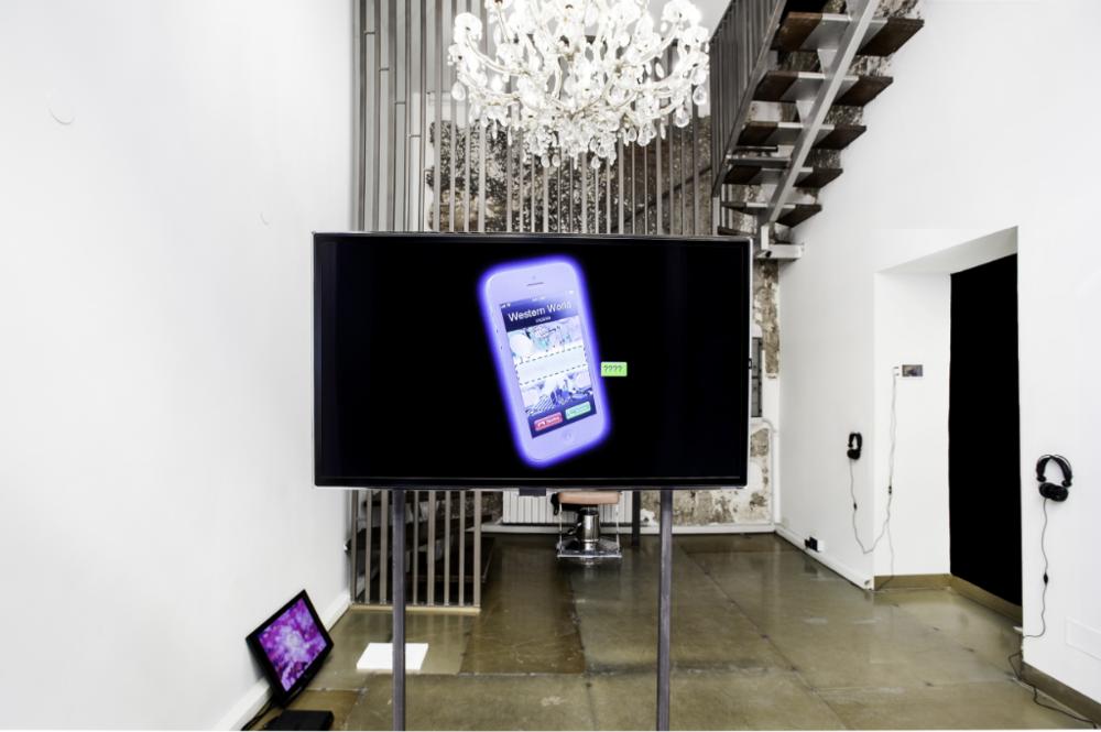 Bronde,  installation view at Fiori @ Orea Malià, Milan, 2016 – Courtesy Utter Collective, photo Fulvio De Filippi