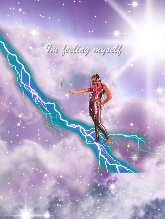 Tabita Rezaire,  Peaceful Warrior , 2015 – Courtesy of the artist