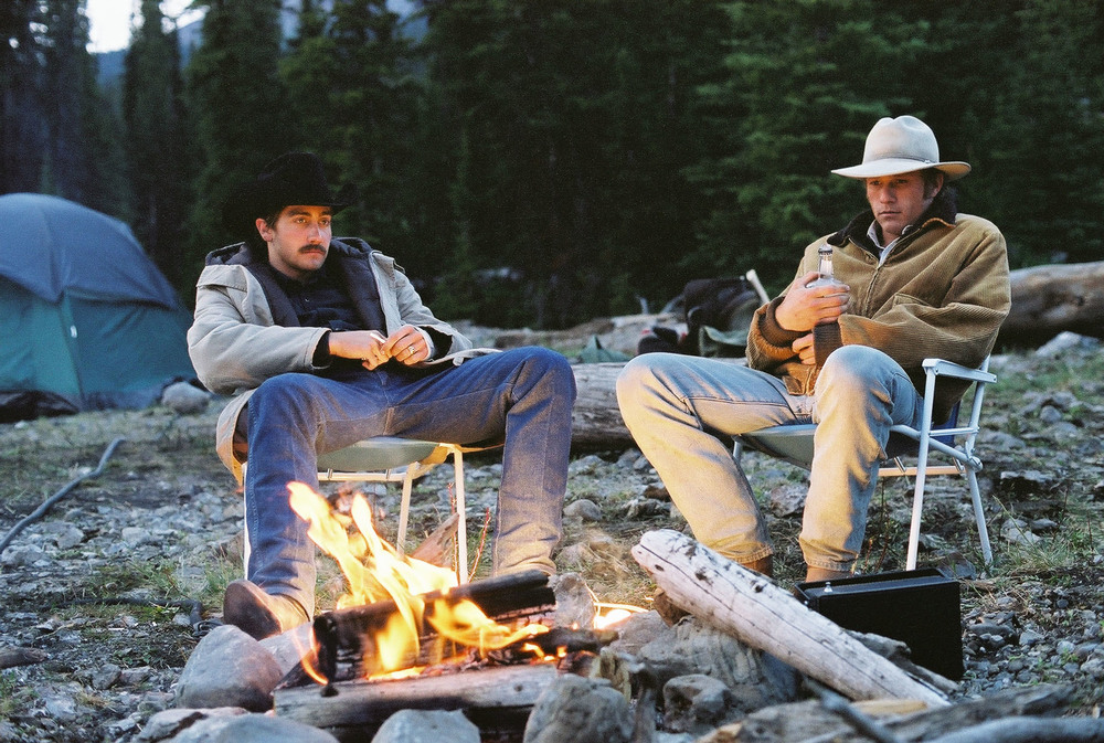 Title: Brokeback Mountain  Director: Ang Lee  Year: 2005  Track: He was a friend of mine (Willie Nelson)   https://www.youtube.com/watch?v=ahc4GbDPEVI