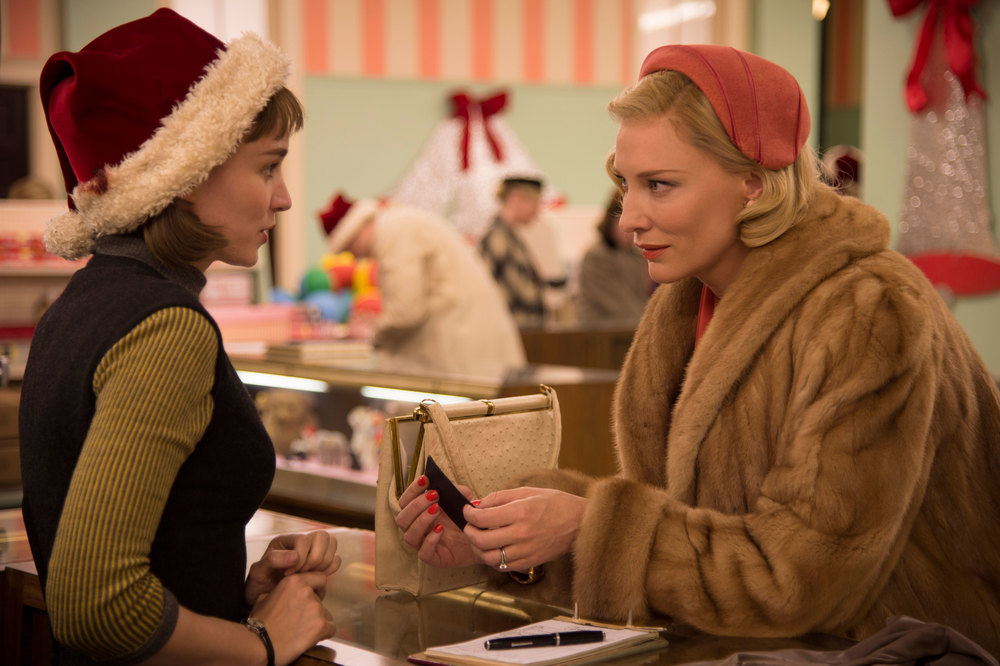 Title: Carol  Director: Todd Haynes  Year: 2015  Track: Easy Living (Billie Holiday ft Teddy Wilson)   https://www.youtube.com/watch?v=UYDAf4oDrkU