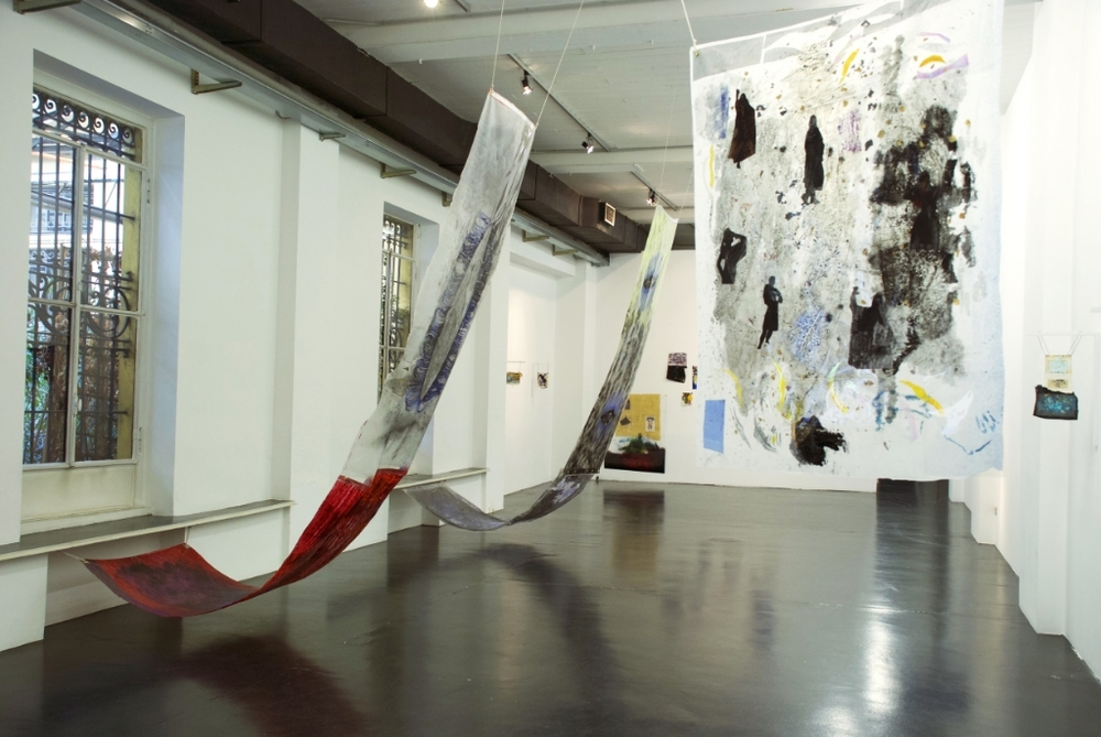 Jump-Cut to Eyeline-Match: Forgetting the Sound of Her Voice, Otto Zoo, installation view