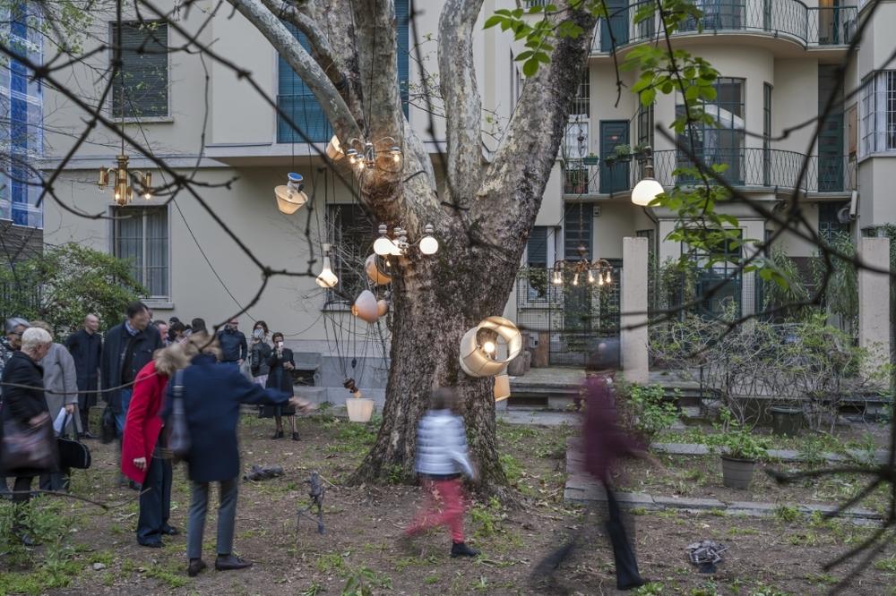 Nico Vascellari, Casa Bonacossa, installation view, ph. Matteo Girola