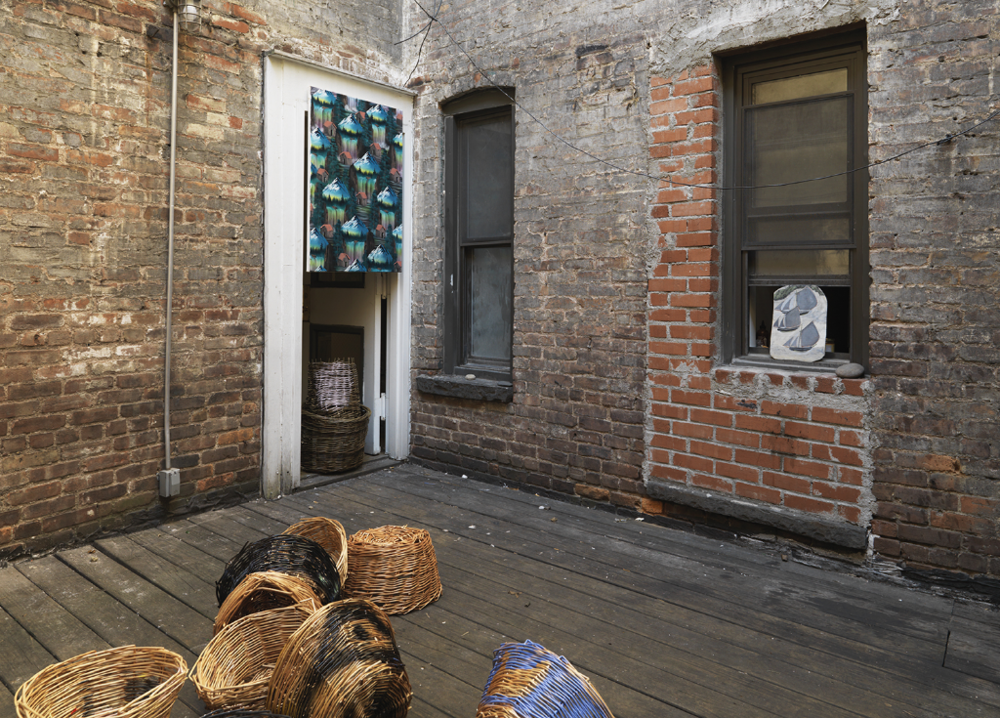 The Hermits' Cave, Installation View, 2016. The Porch Museum NY