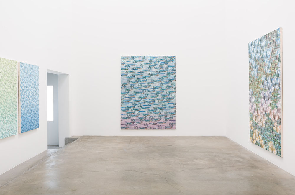 Happy Painting, Anat Ebgi Gallery, 2015, installation view