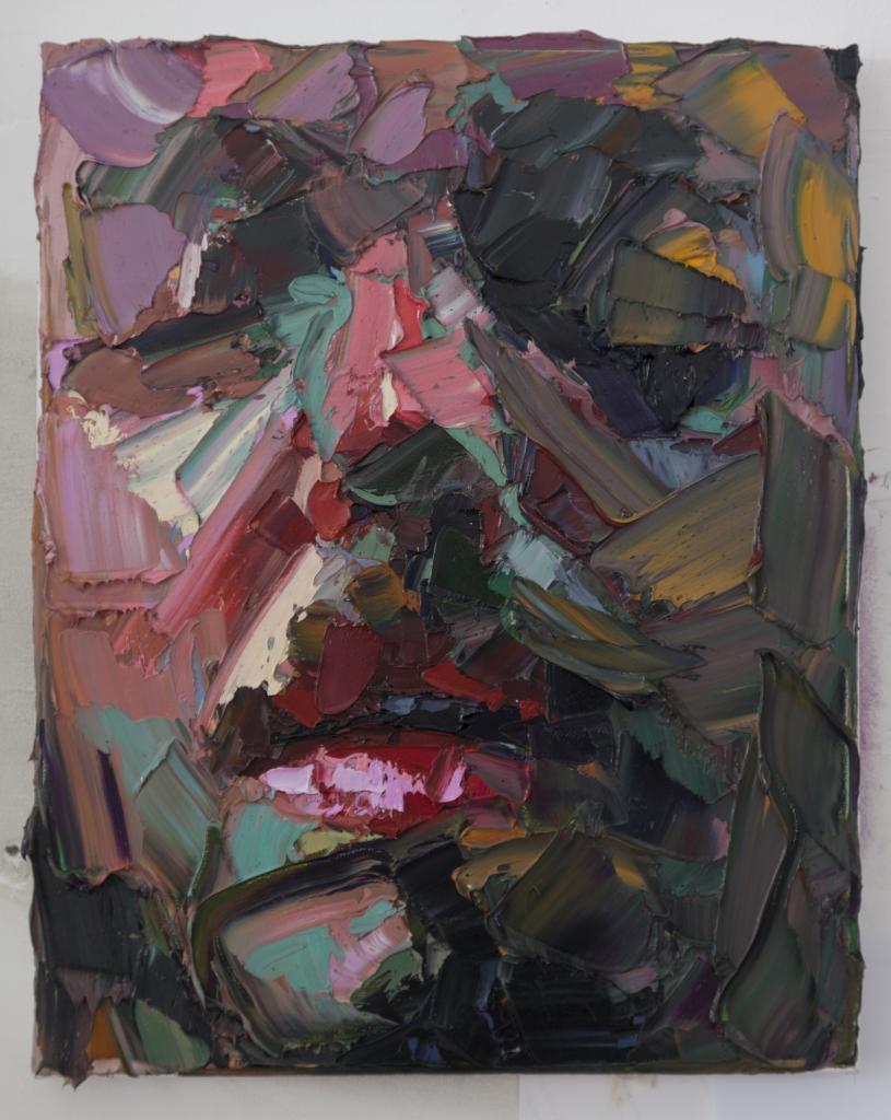 Trance , oil on canvas, 40x50cm, 2016