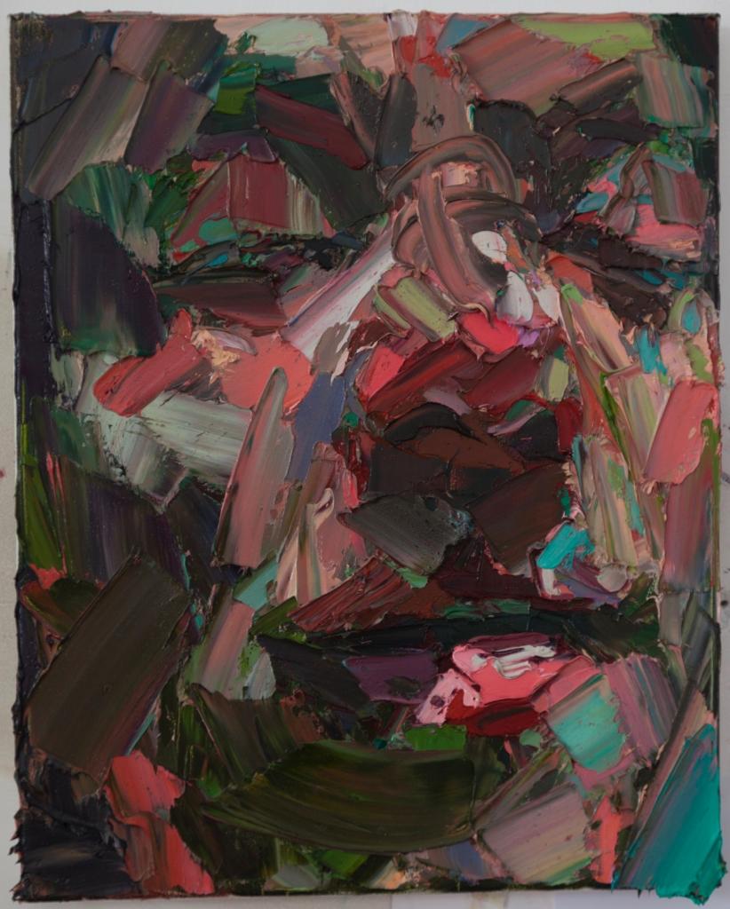 Lahar,  oil on canvas, 40x50cm, 2016