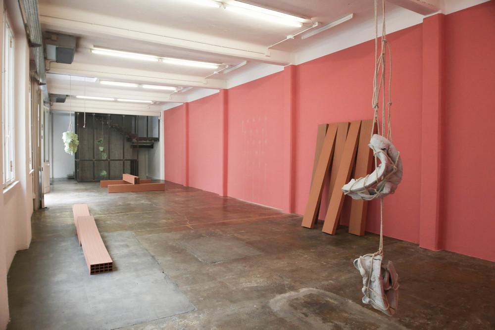 Morgane Tschiember,installation view