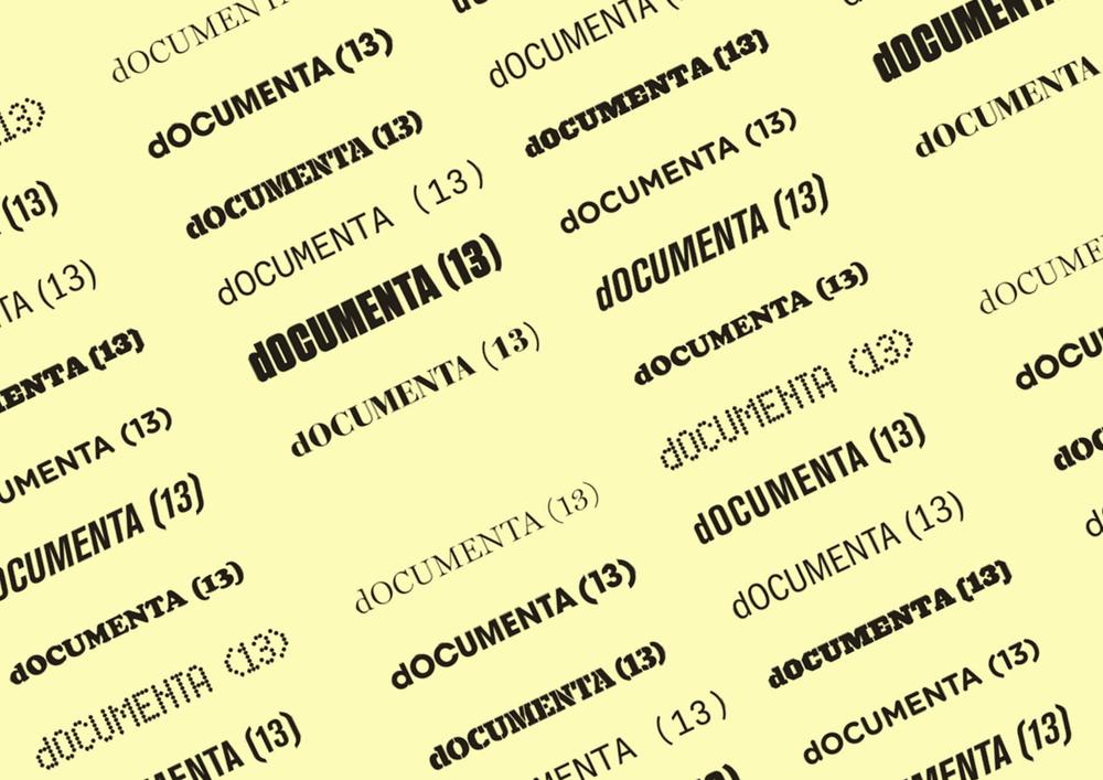 (d)OCUMENTA13, identity