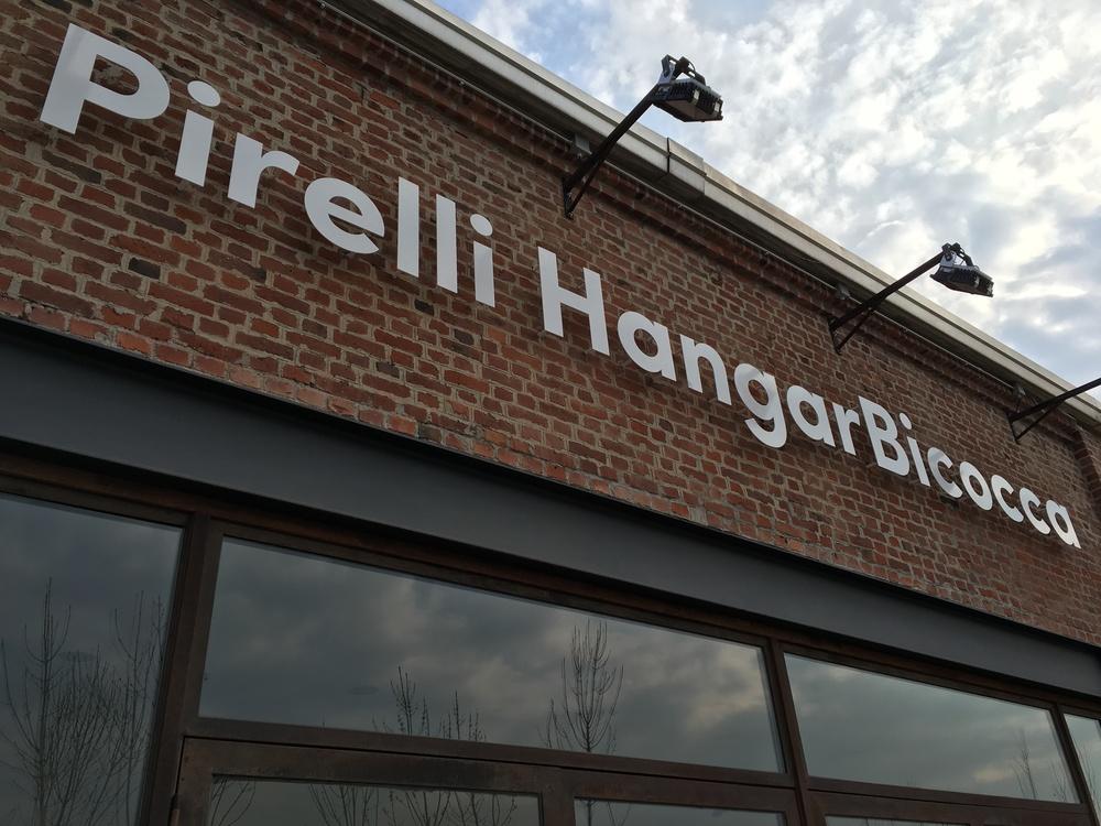 Pirelli Hangar Bicocca, rebrending