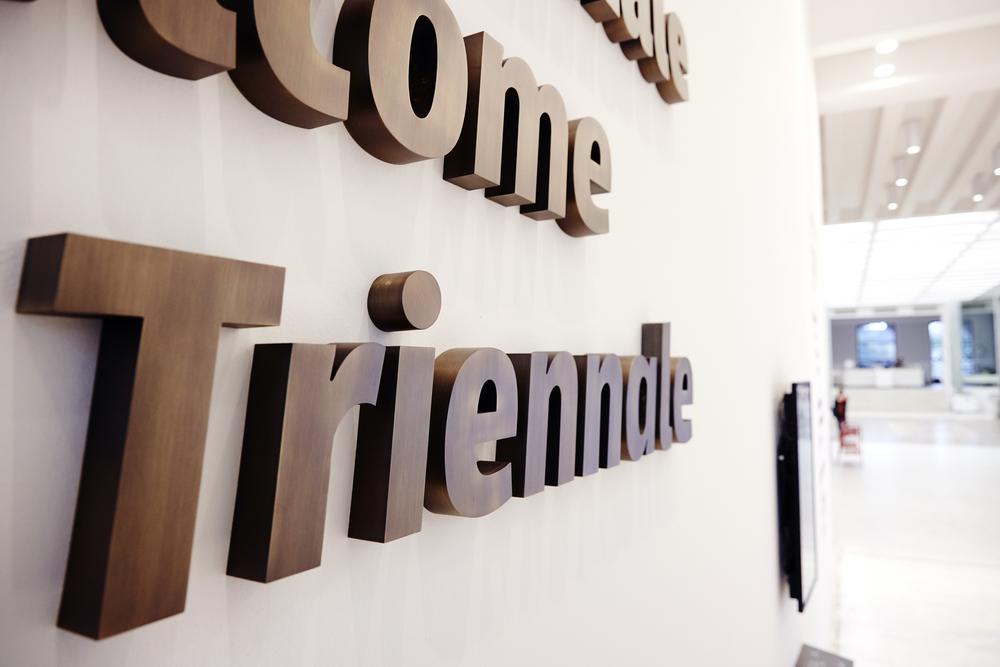 Triennale, segnaletica, foto: Tommaso Gesuato