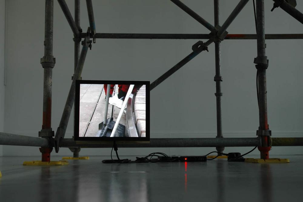 Drift Diagram XI, detail,Installation view IMMA, Dublin, 2010